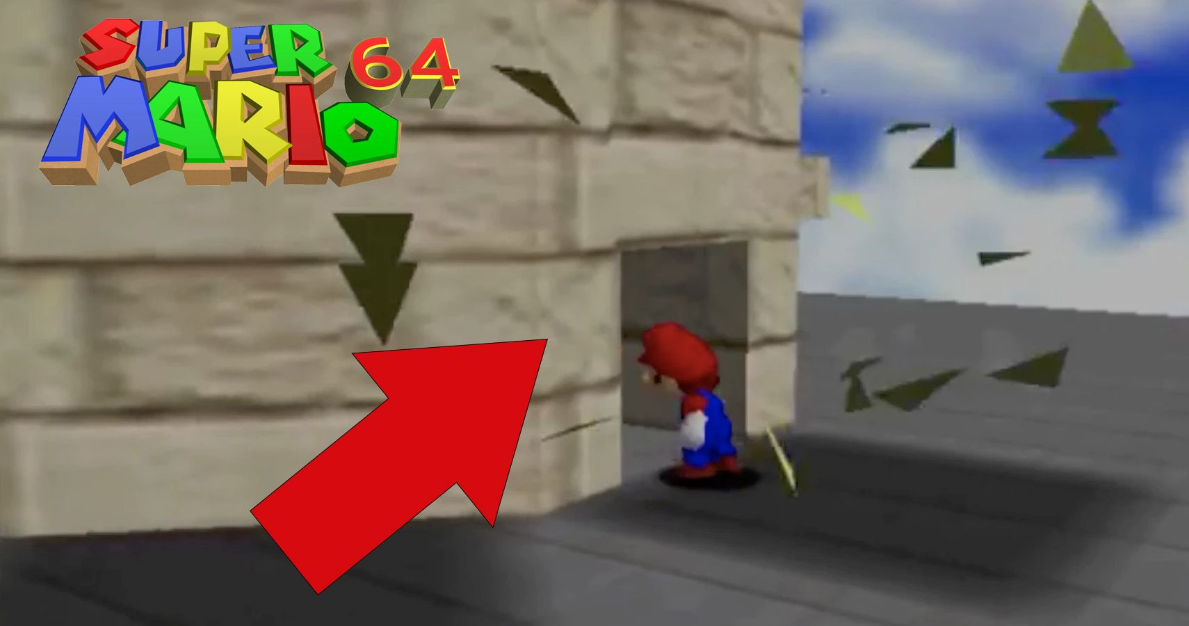 Things You Didn't Know You Could Do In Super Mario 64 | TheGamer