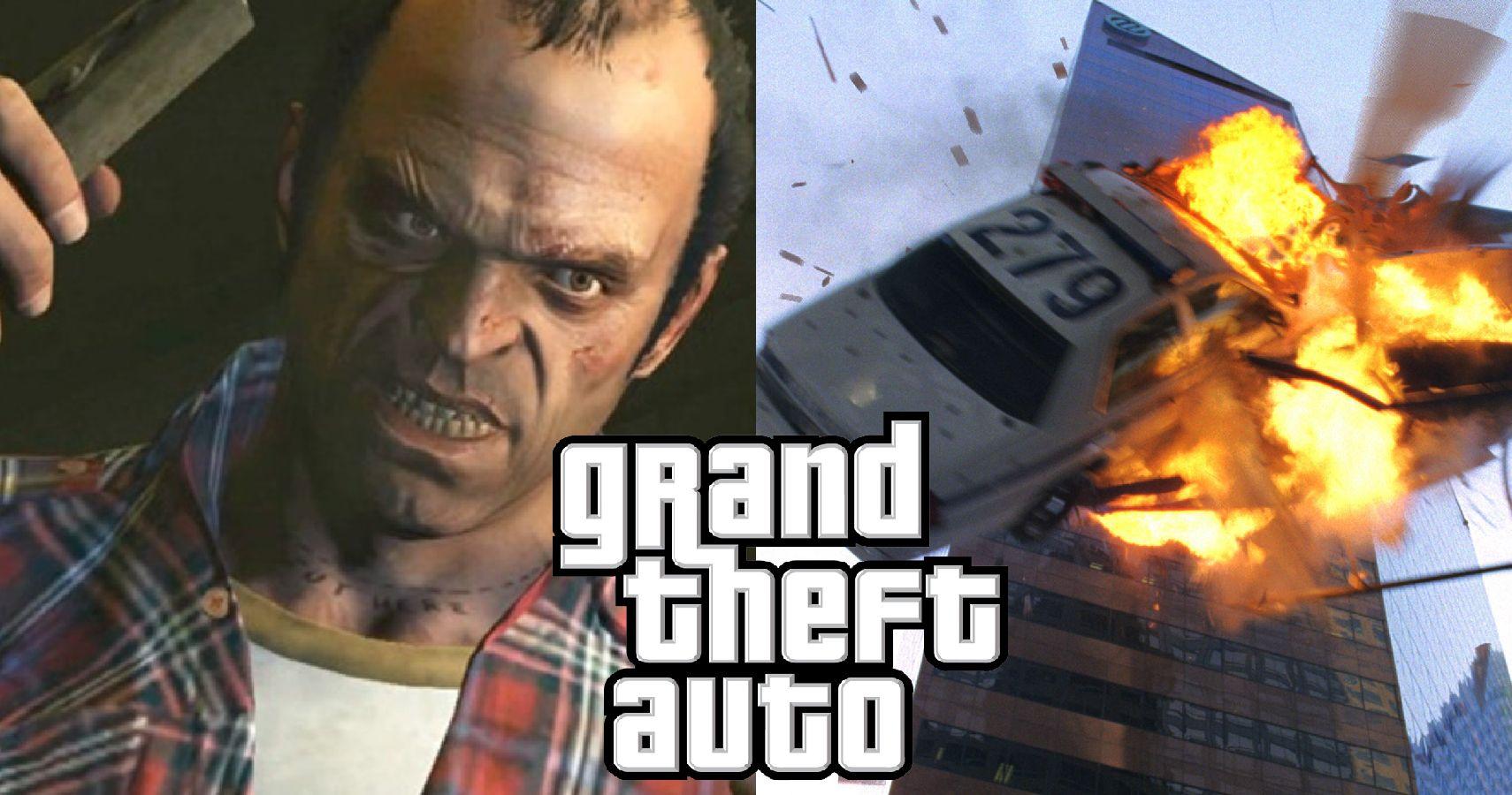 The Craziest Death Scenes In Grand Theft Auto History | TheGamer