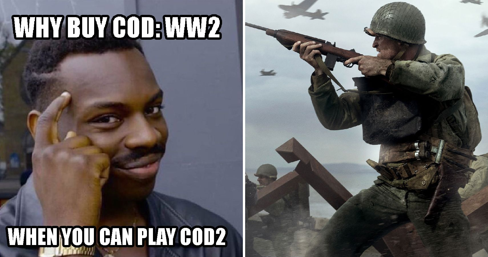 cod ww2 meme why call of duty wwii is going to suck thegamer