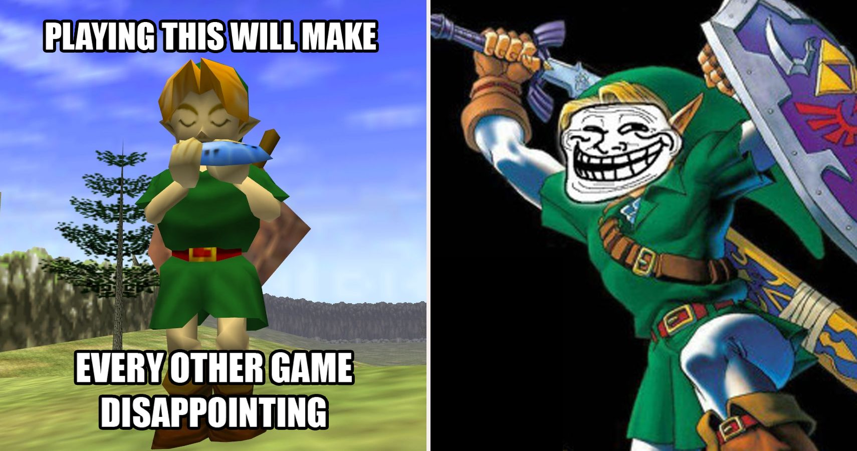 ocarina of time meme hilarious ocarina of time memes only true zelda fans will understand