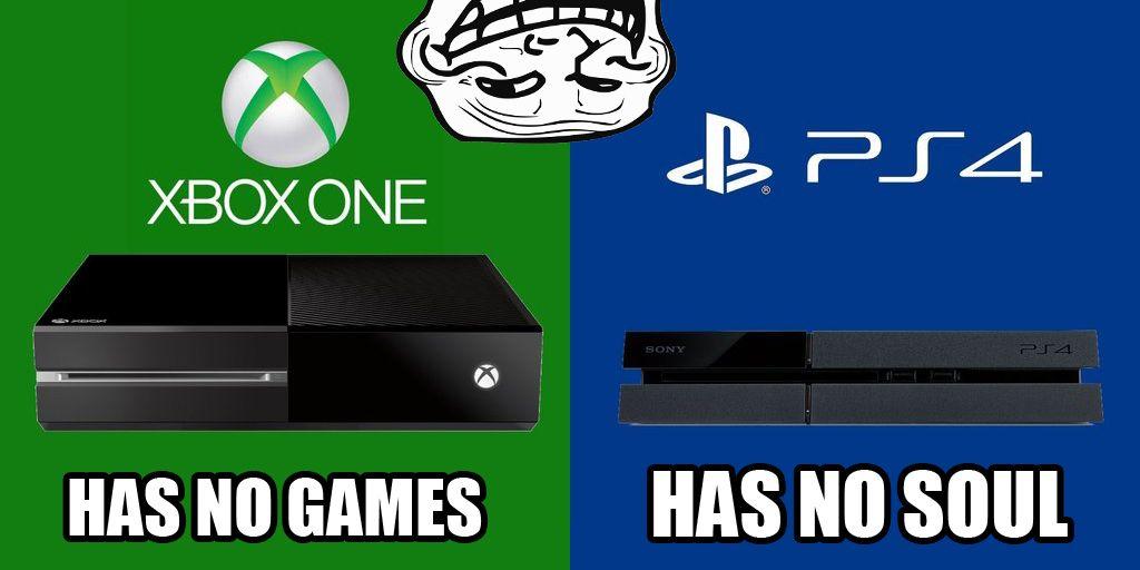 ConsLOLe Wars: Hilarious PlayStation Vs  Xbox Memes | TheGamer