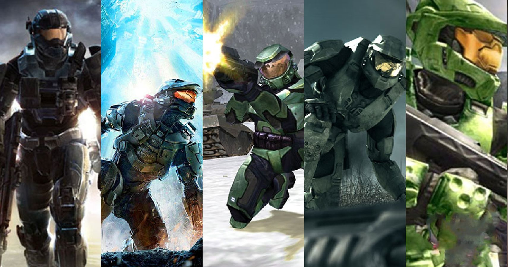 Ranking Every Halo Game from WORST To Best | TheGamer