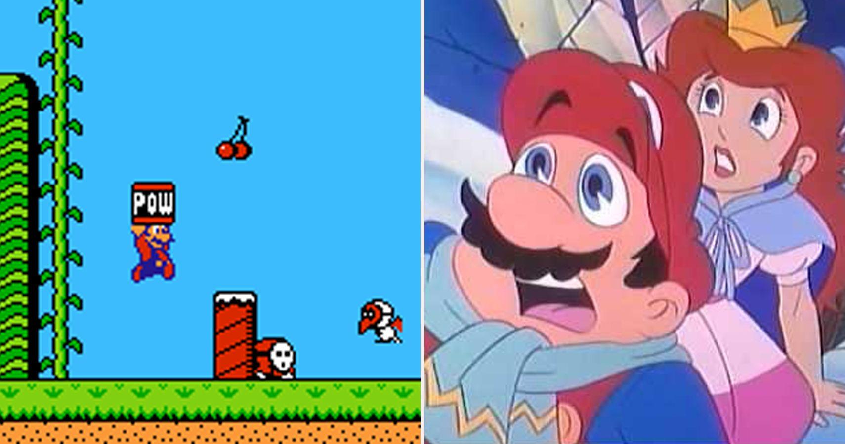 original super mario bros 2 enemies