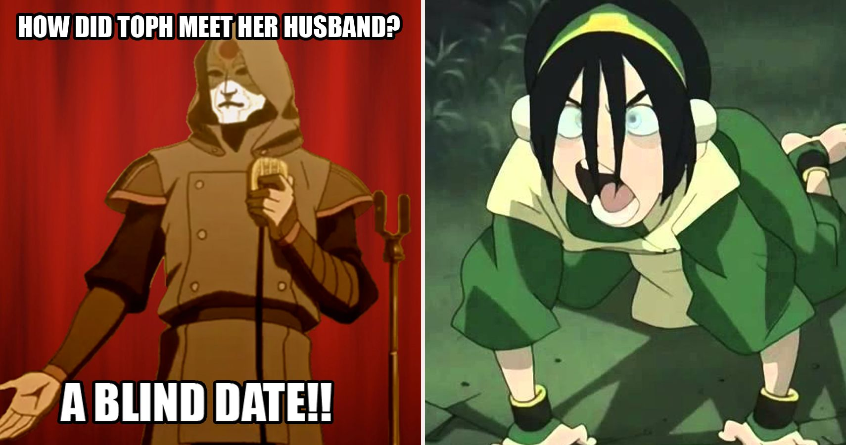 toph meme hilarious avatar the last airbender memes only true fans will