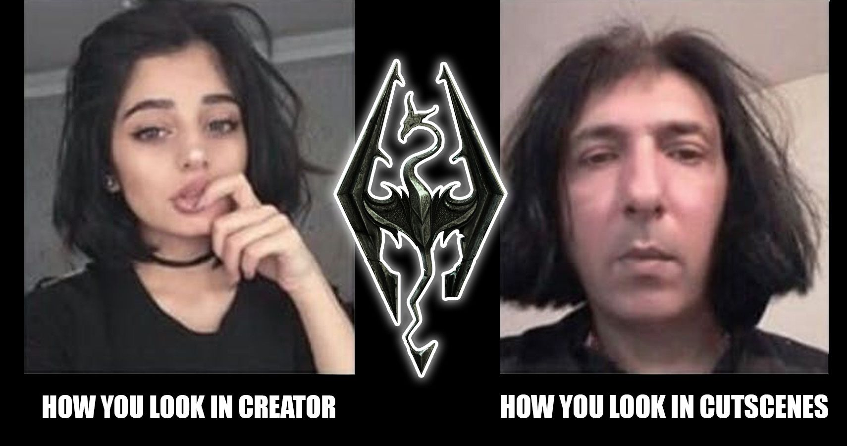 30 Skyrim Character Creator Memes That Are Too Hilarious For Words