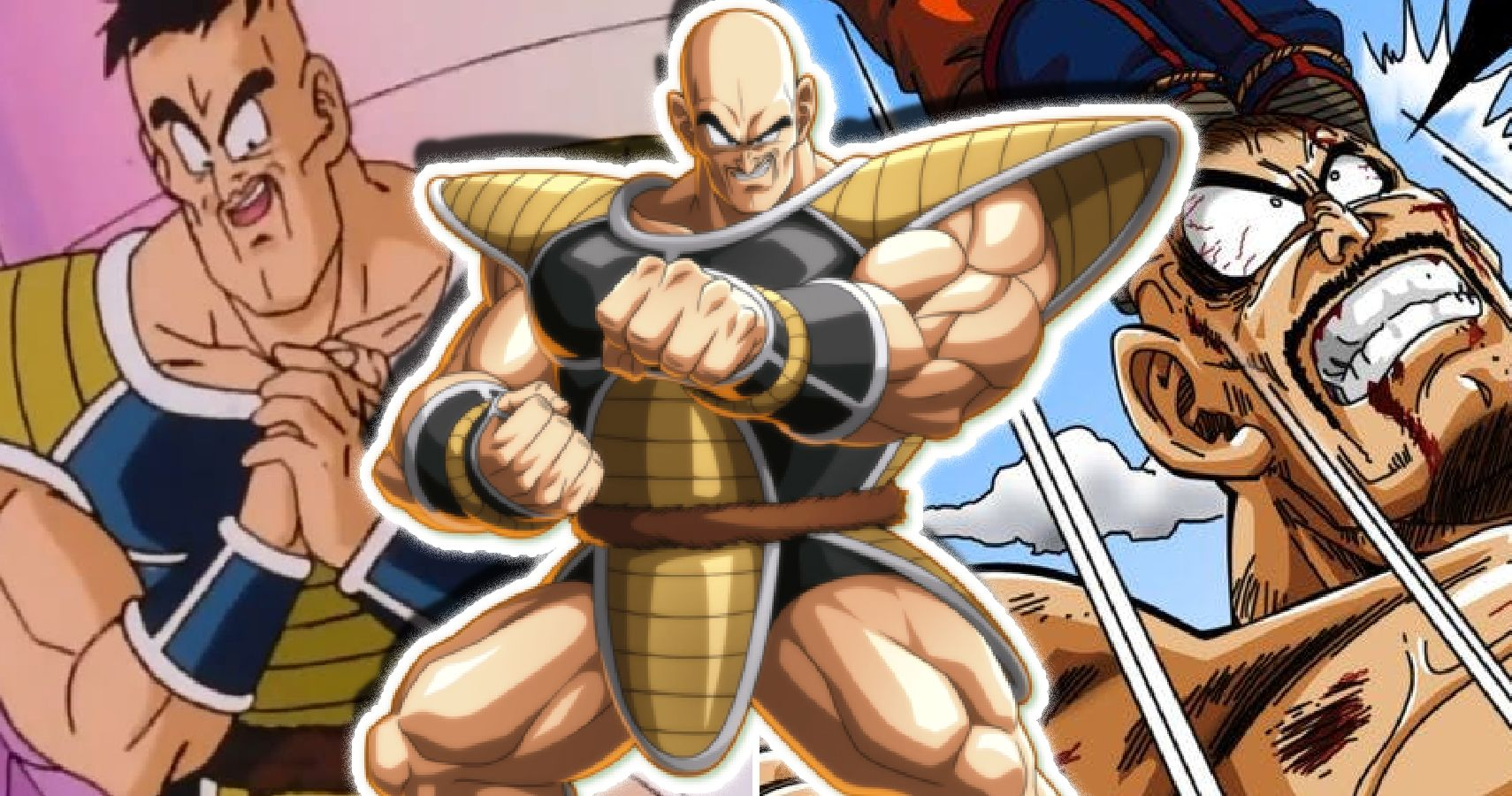 Crazy Things You Didn't Know About Nappa From Dragon Ball Z