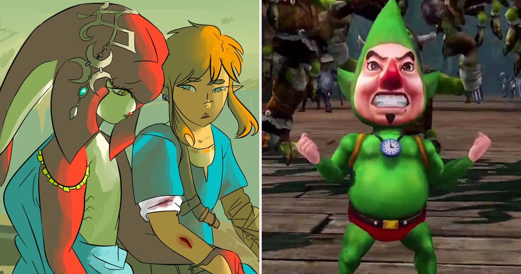 Inappropriate Things We Never Noticed In The Legend Of Zelda