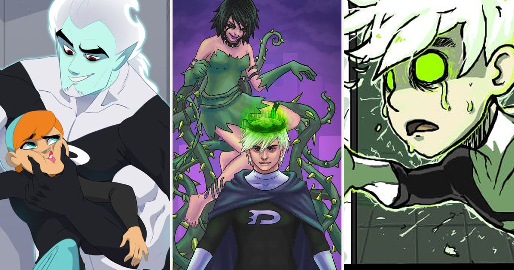 25 Extra Cool Fan Pictures Of Danny Phantom (That Are Kinda