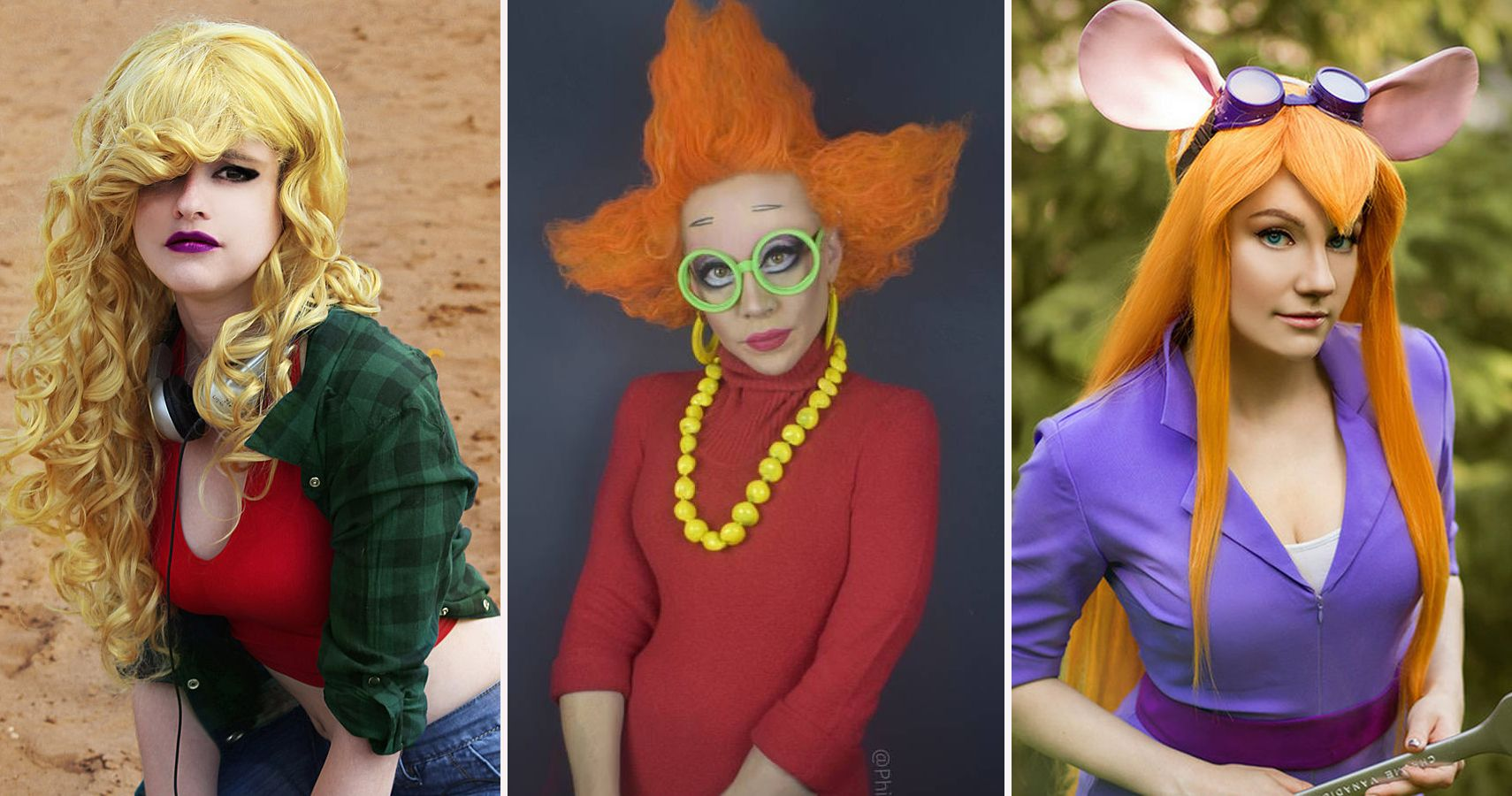 25 cartoon characters from the 90s that are impossible to cosplay