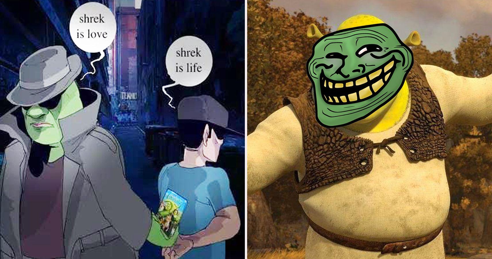 Get Shrekt 25 Hilarious Shrek Memes Only True Fans Will Understand