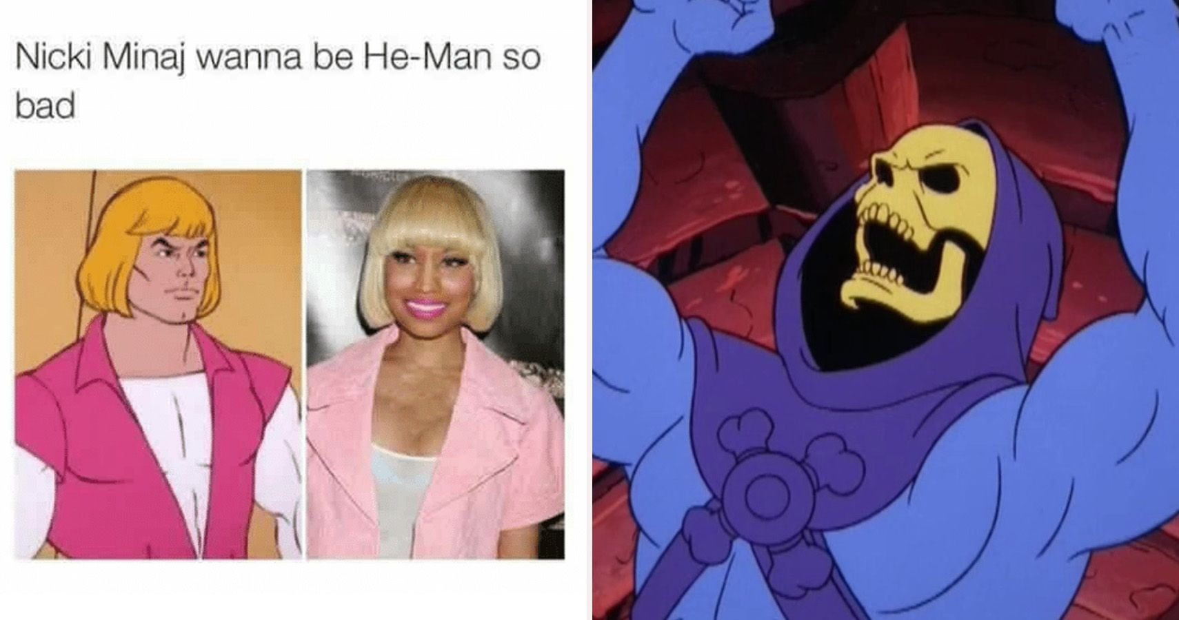 27 Hilarious He Man Memes Only True Fans Will Understand Make skeletor memes or upload your own images to make custom memes. hilarious he man memes only true fans