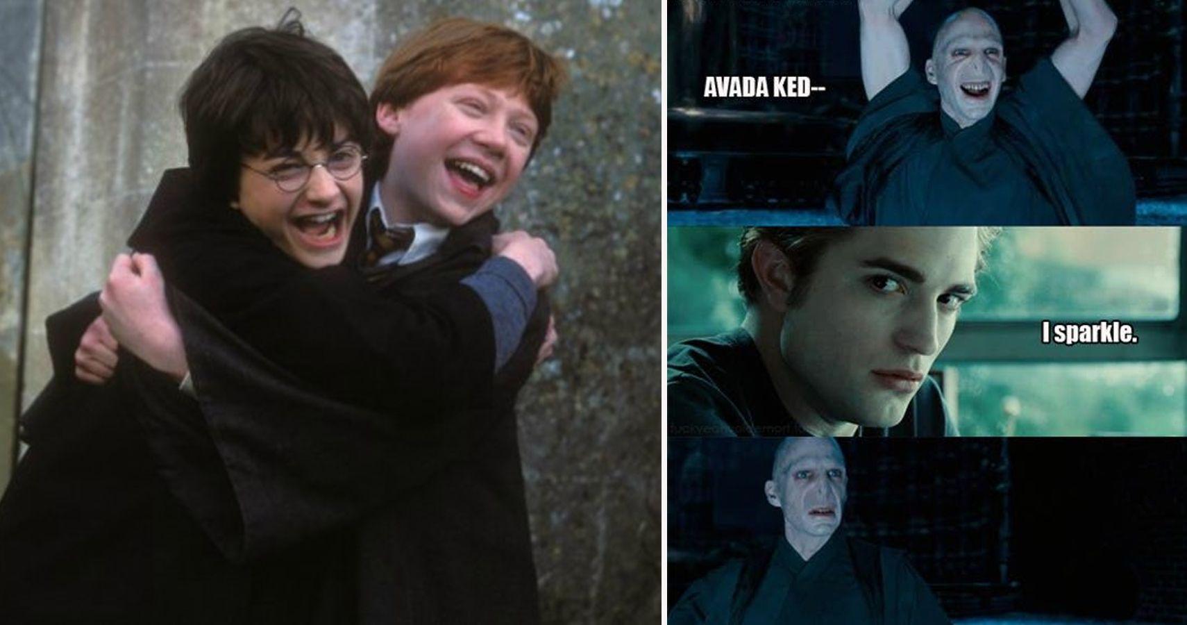 25 Twilight vs  Harry Potter Memes That Will Make Fans Choose