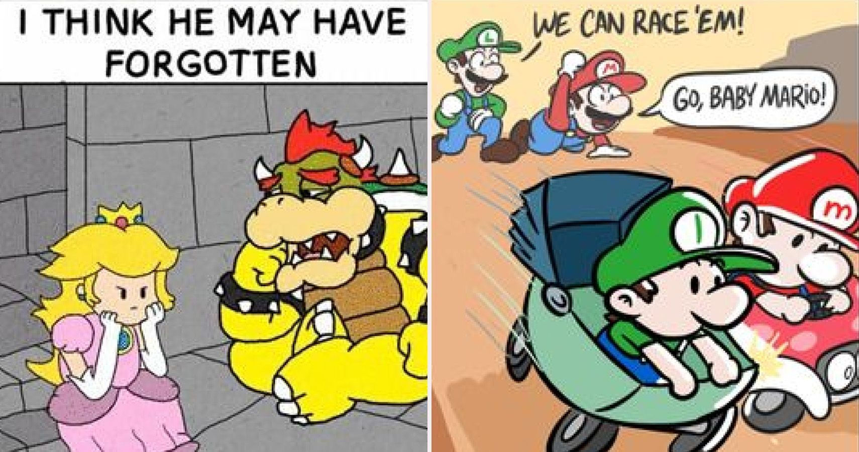 25 Super Mario Comics That Will Make Any Gamer Say