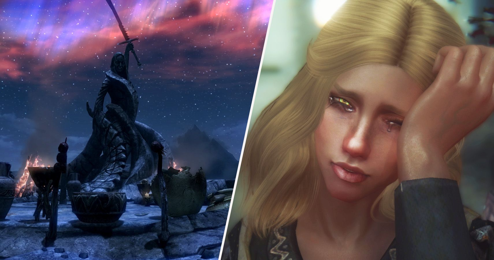 25 Amazing Things Deleted From Skyrim (That Would Have
