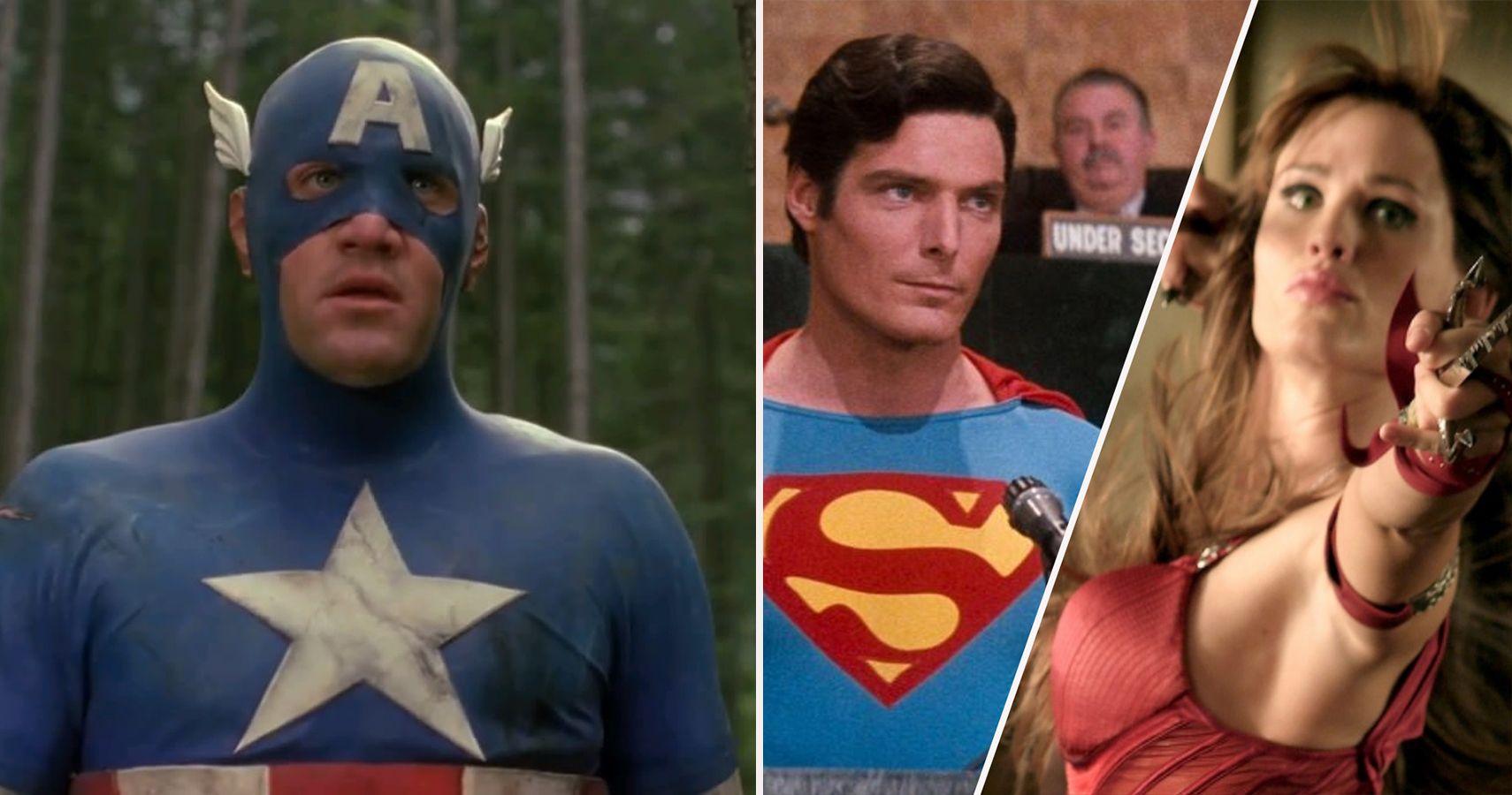 The 15 Worst Superhero Movies According To Rotten Tomatoes ...
