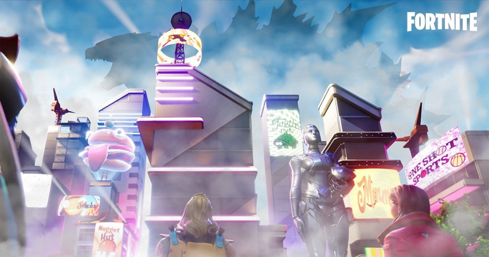 Fortnite Might Be Stealing The Godzilla Event From PUBG