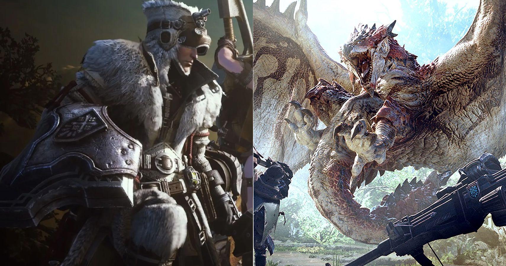 Monster Hunter World The Best Armor Ranked Thegamer