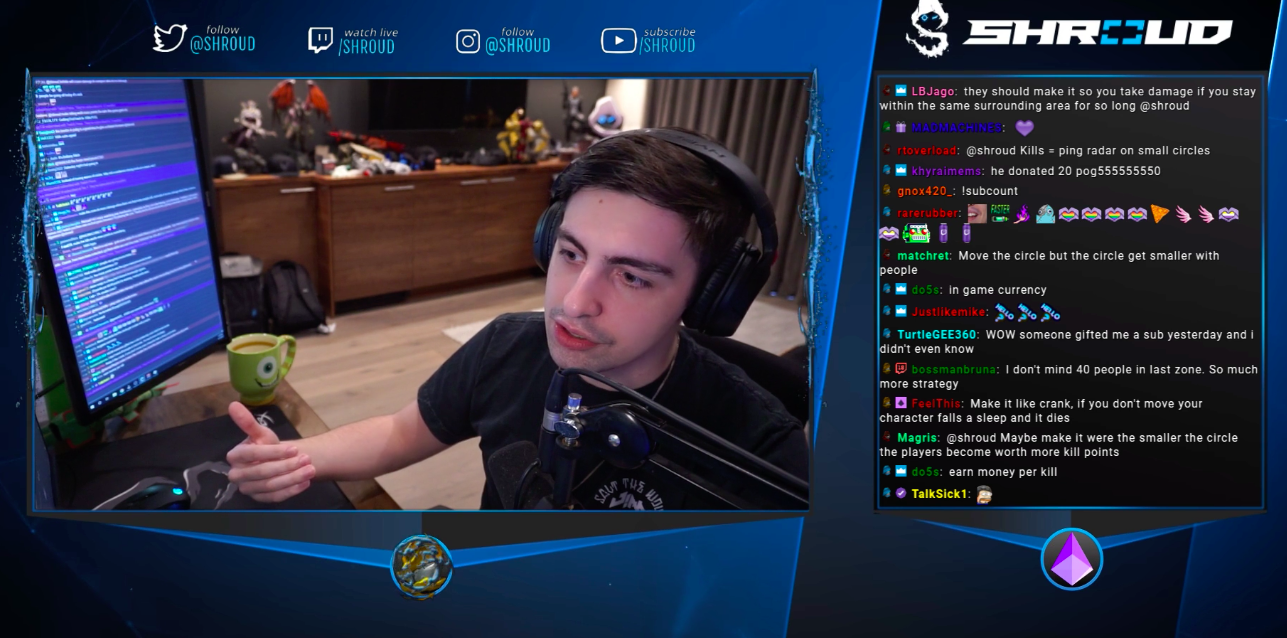 Shroud Thinks Battle Royale Is Too Luck Based To Be Competitive