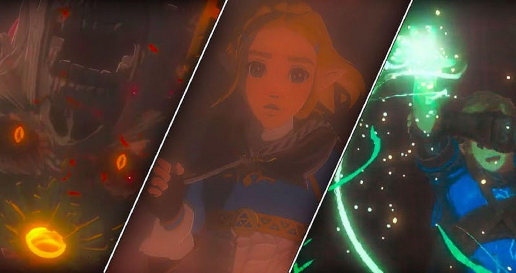 Zelda 10 Hidden Details In The Breath Of The Wild 2 Trailer