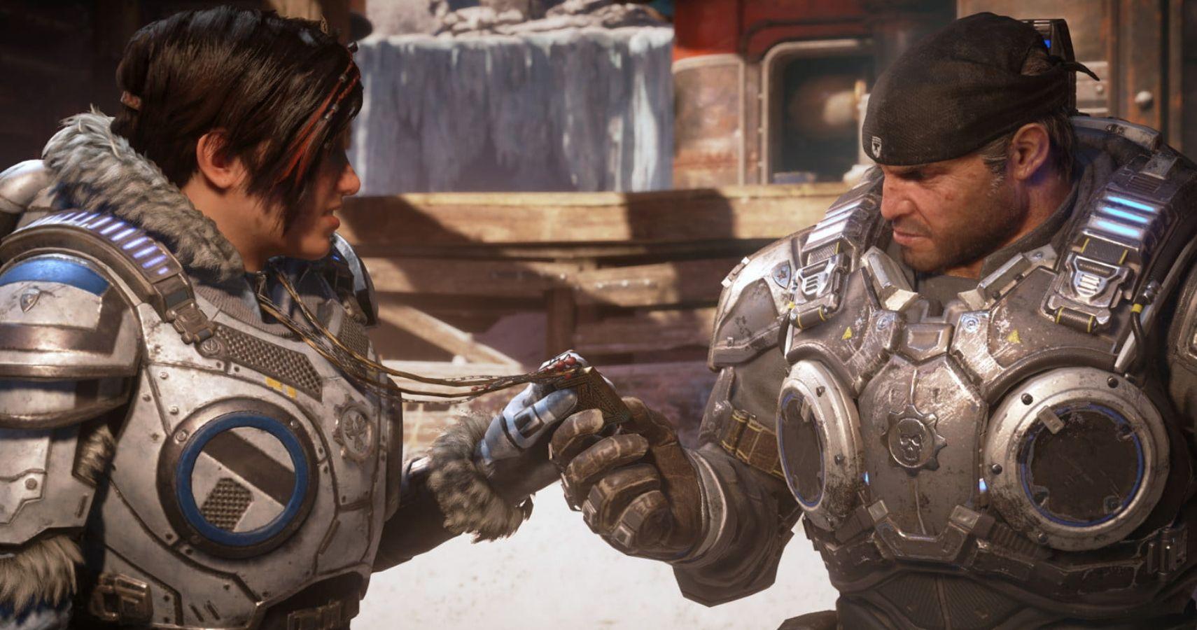E3 2019 Gears 5 Marcus Fenix S Voice Actor Humiliates Guy