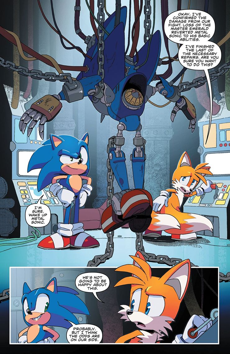 10 Things From The Sonic The Hedgehog Comics That Need To Be Brought To The Games