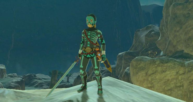 10 Best Armor Sets In Breath Of The Wild Thegamer