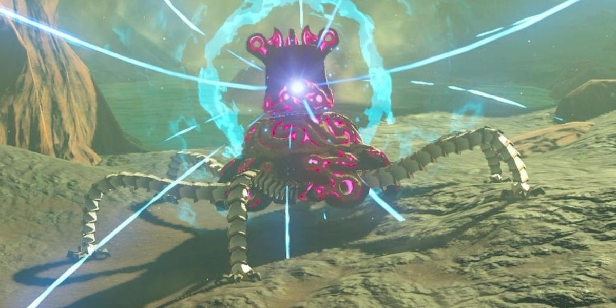 The Legend Of Zelda: The Toughest Monsters In Breath Of The