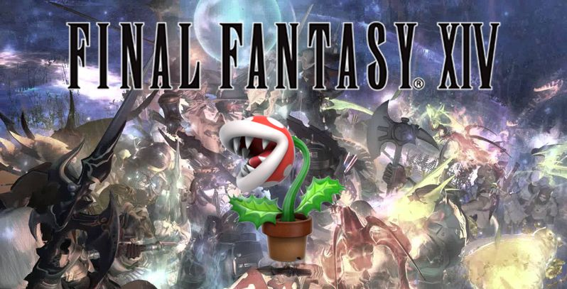 Gaming Detail: Flowerpots Nearly Destroyed Final Fantasy XIV