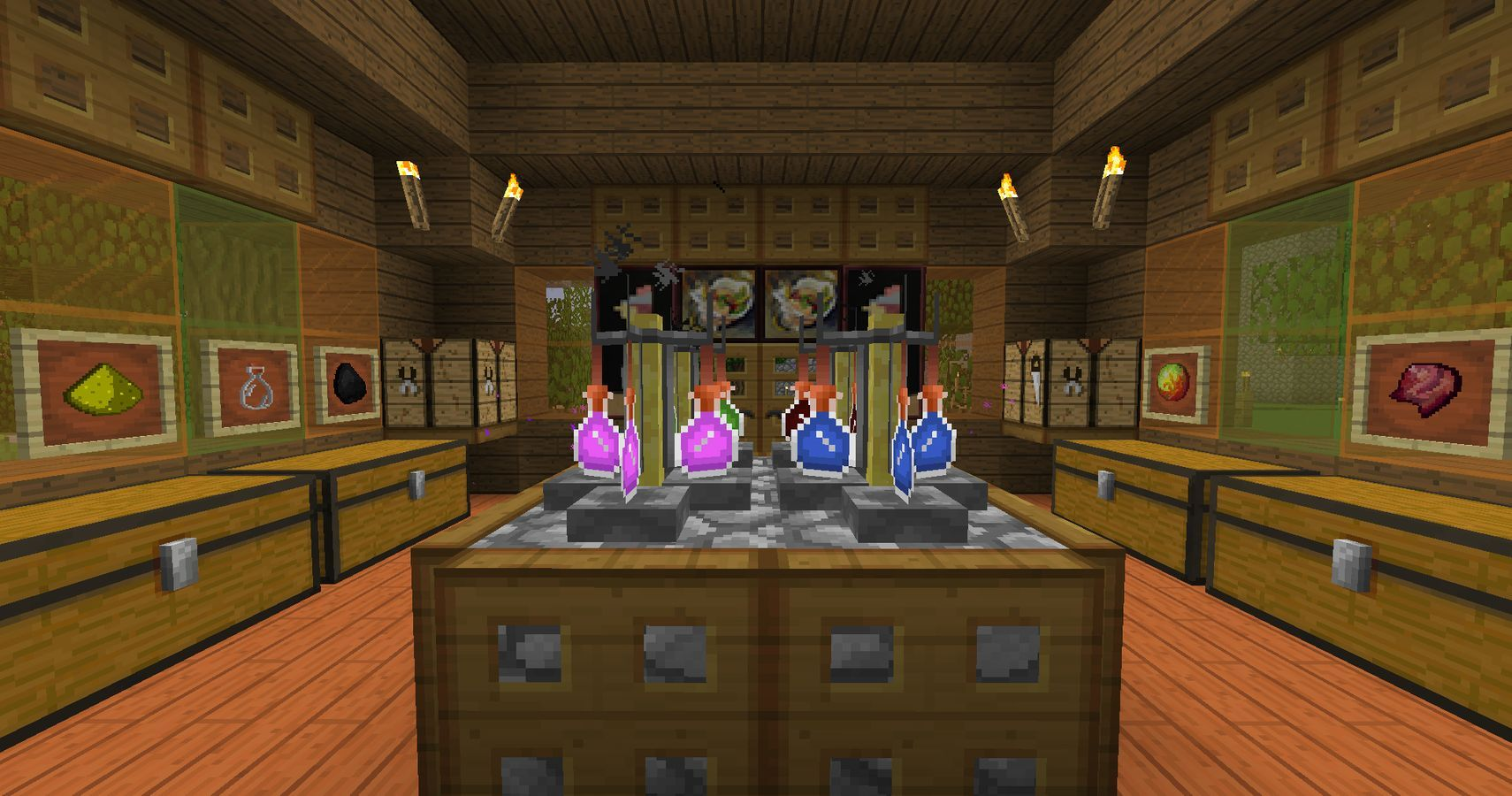 Minecraft All You Need To Know About Making Potions Thegamer