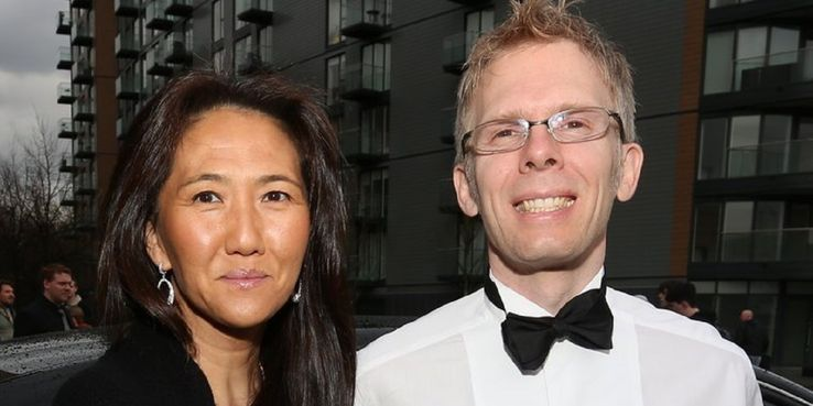 John Carmack with gracious, Wife Katherine Anna Kang