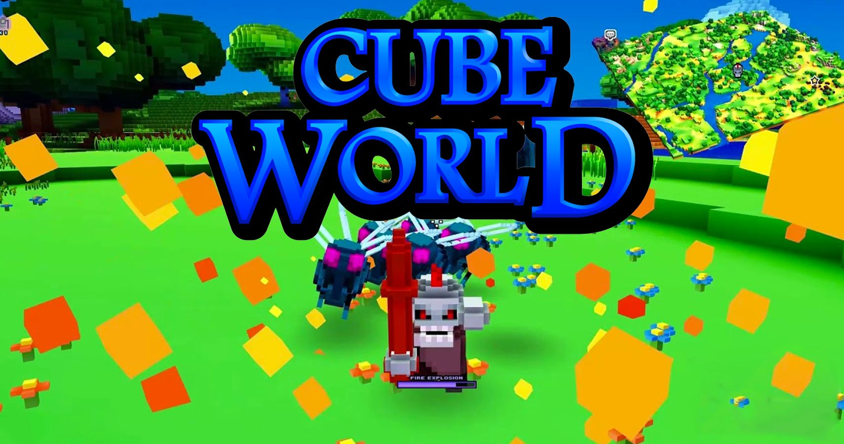After 6 Years Cube World Is Finally Coming Out Thegamer