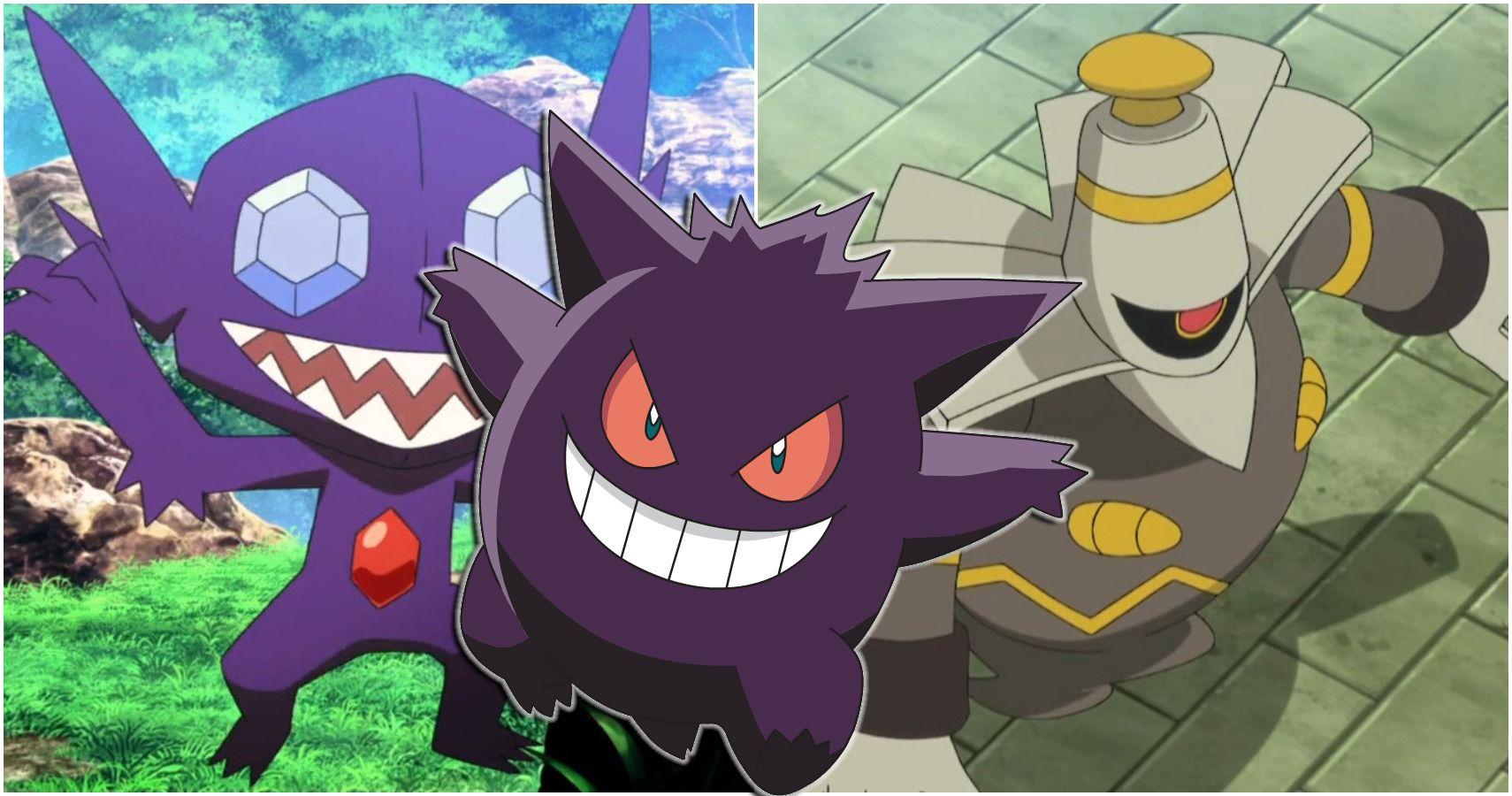 13 Strongest Ghost Pokemon Ranked Thegamer