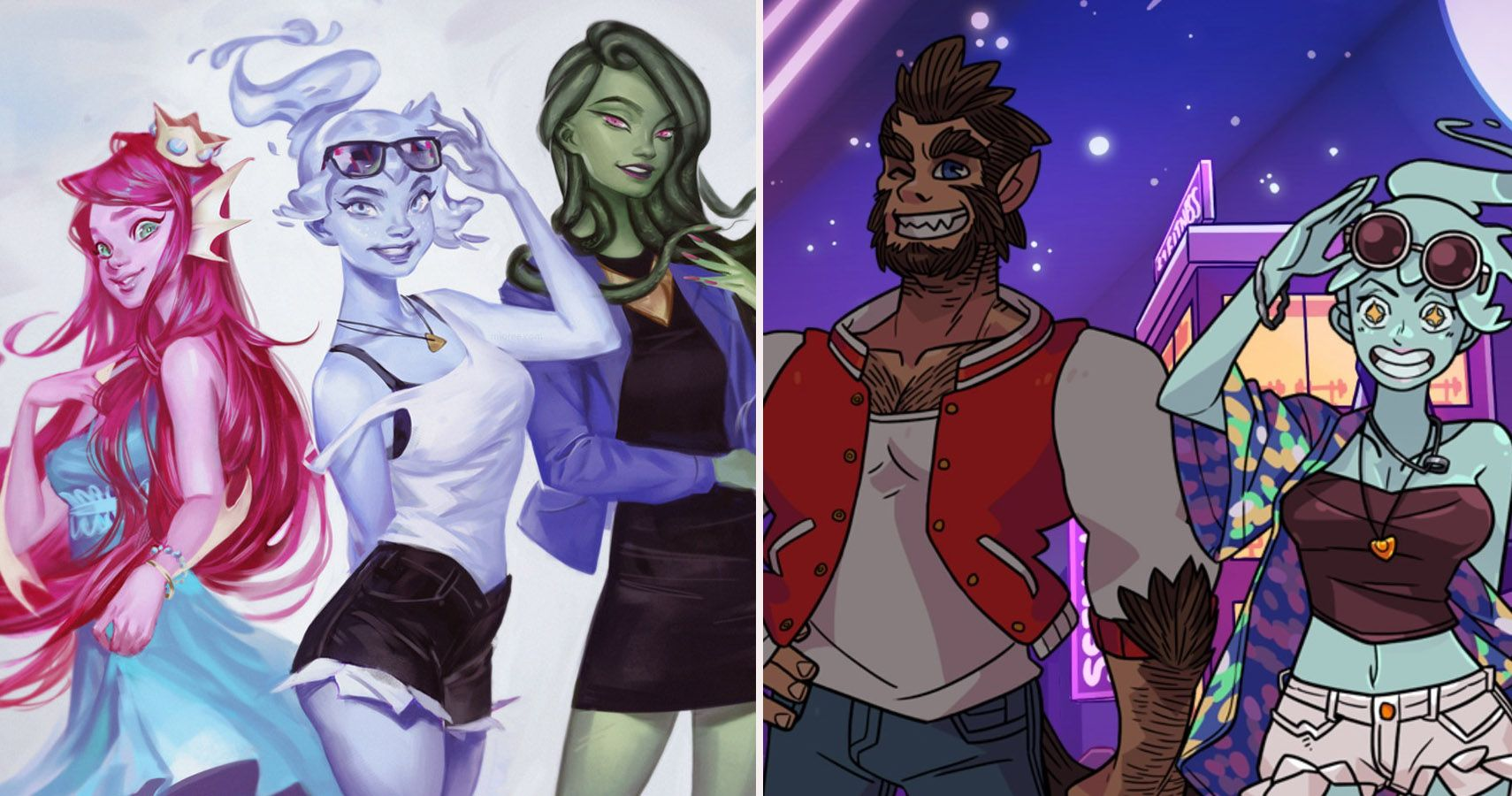 10 Monstrous Pieces Of Monster Prom Fan Art Thegamer
