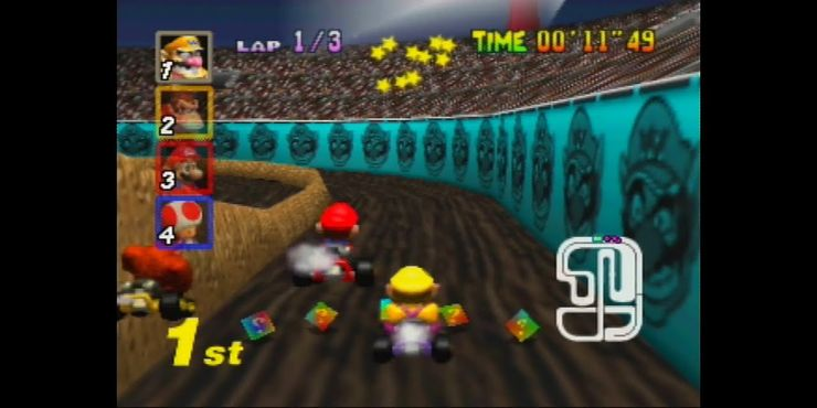 10 Greatest Stages In Mario Kart Ranked Thegamer