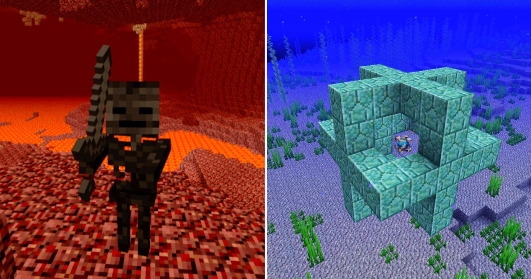 Minecraft Heart Of The Sea The 10 Best Rare Items Thegamer