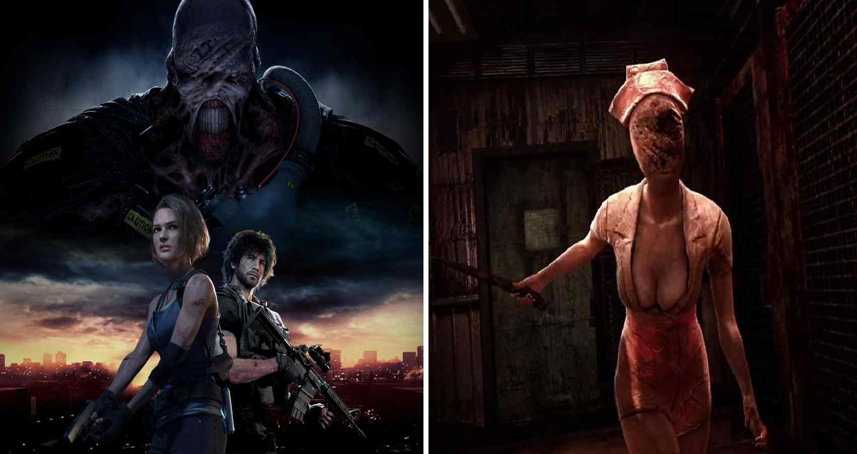 5 Reasons Why Silent Hill Is The Definitive Surivival Horror Game Series 5 Why It S Resident Evil