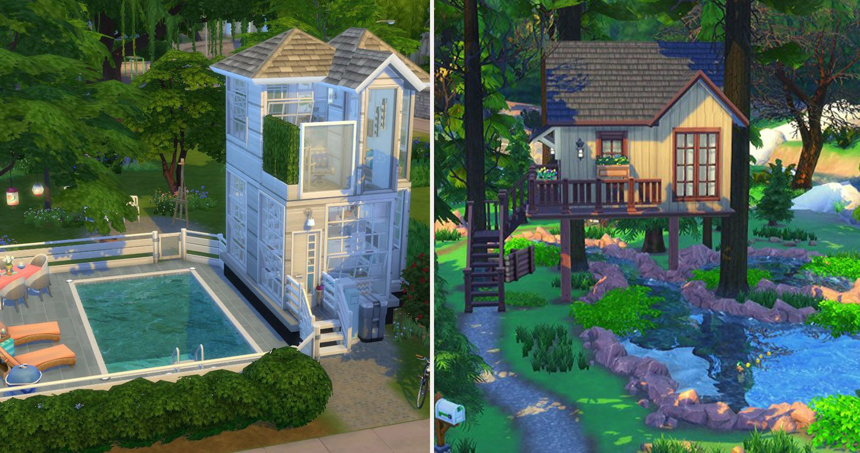 The Sims 25 Tiny Living: 25 Terrific Tiny Homes  TheGamer