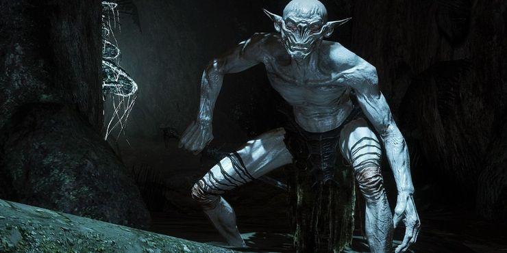 Personagens dos jogadores Skyrim-Falmer