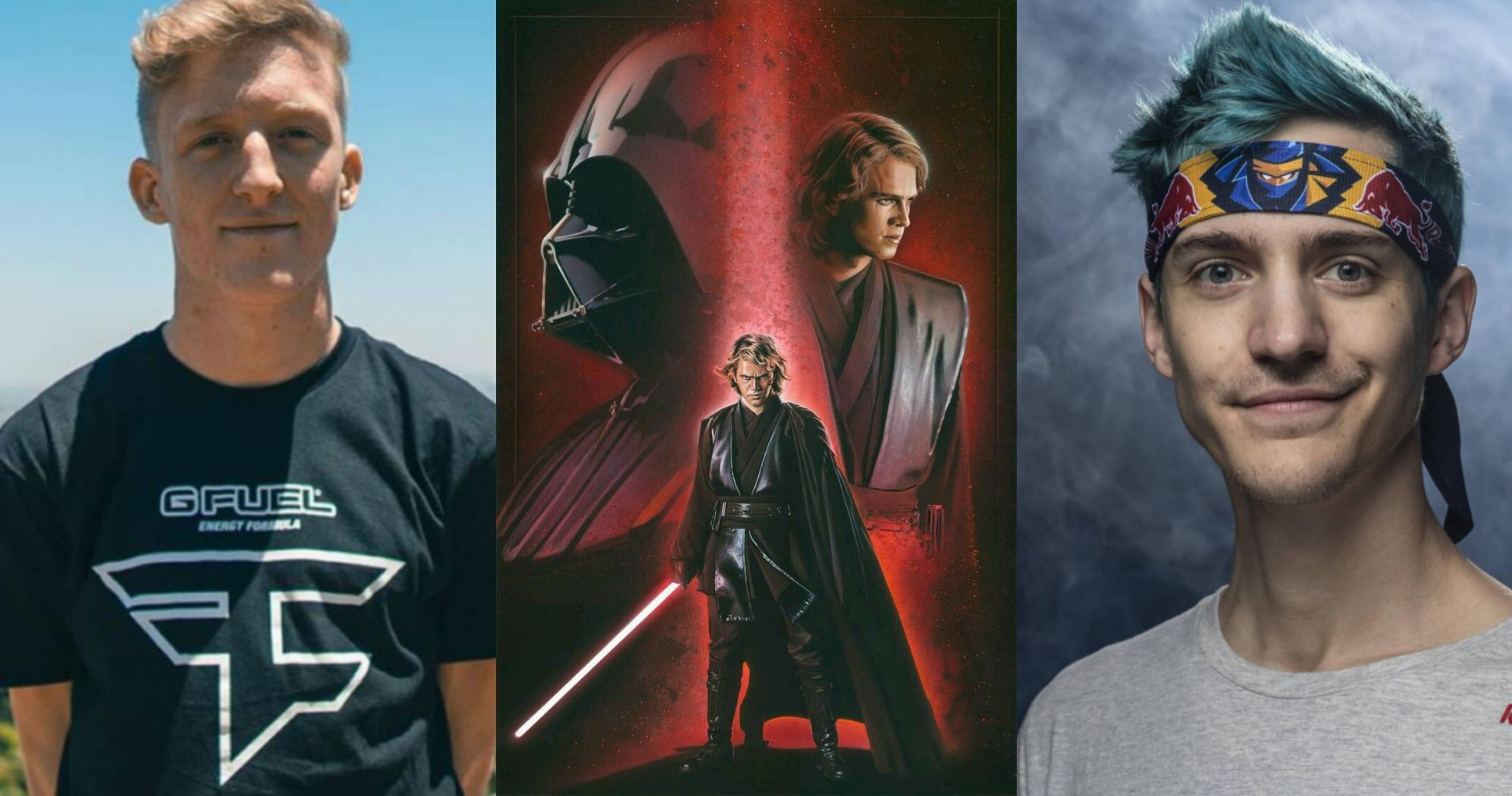 Tfue Says 'I'm Like Darth Vader And He's Anakin Skywalker' About Ninja