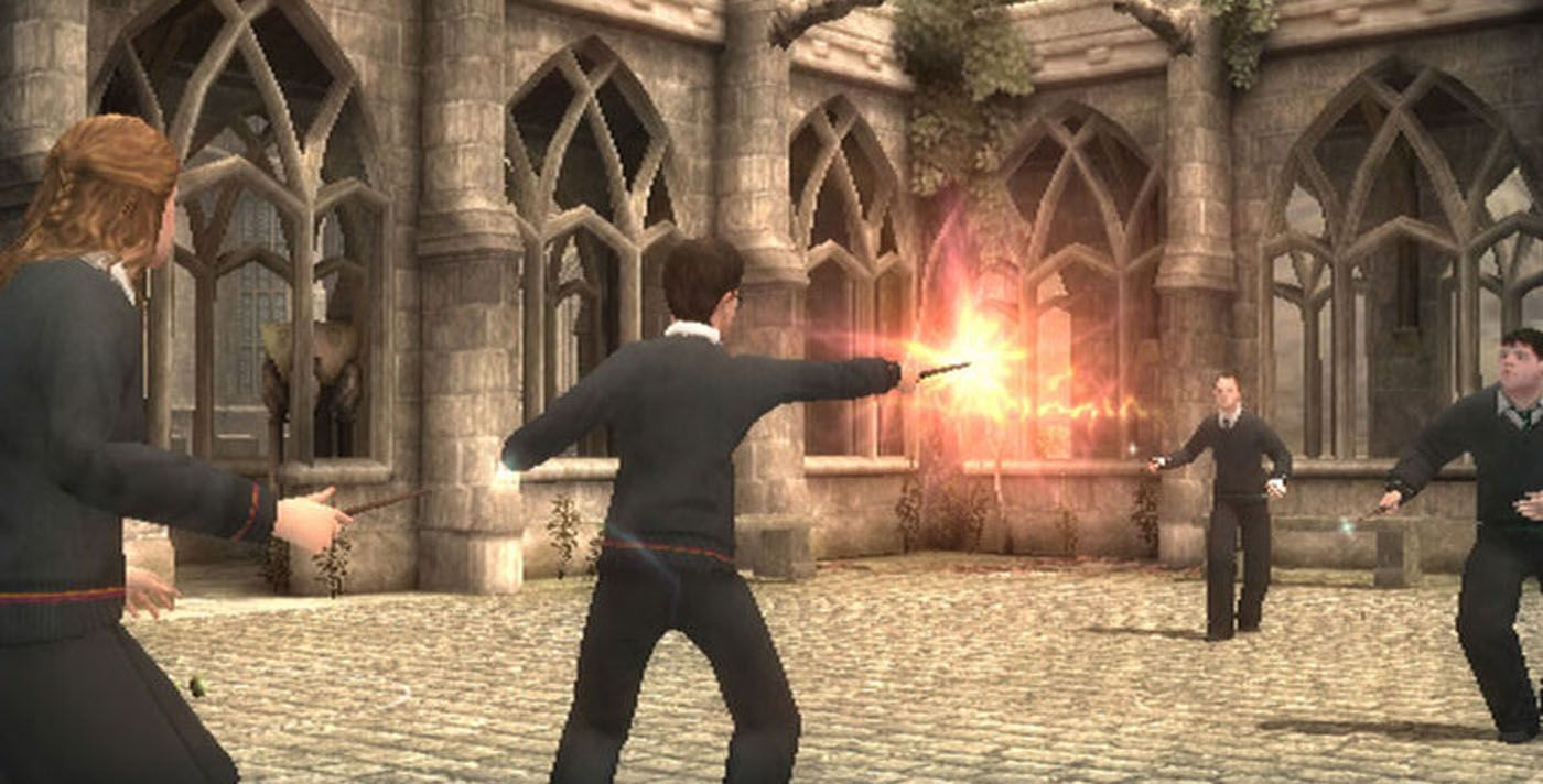 Harry Potter Every Movie Video Game Ranked From Worst To Best