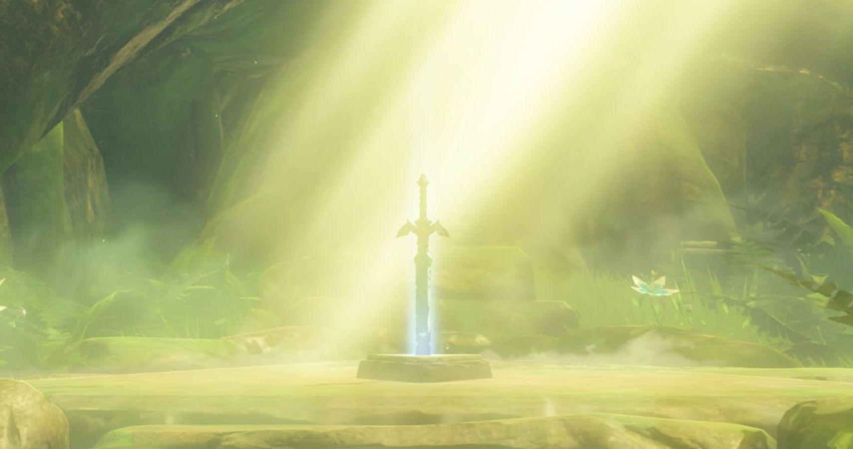 Legend Of Zelda Breath Of The Wild How To Find The Master Sword