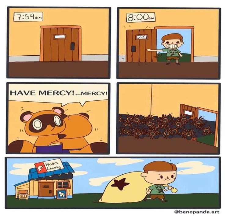 Animal Crossing New Horizons 10 Fan Art Comics That Are Too Funny