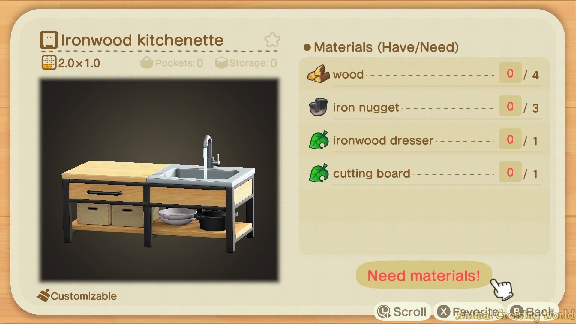 Animal Crossing: New Horizons - What's In The Wildest ... on Animal Crossing Ironwood Dresser  id=78212