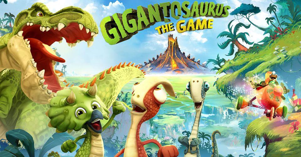 Gigantosaurus The Game, game PS4 dành cho trẻ em.