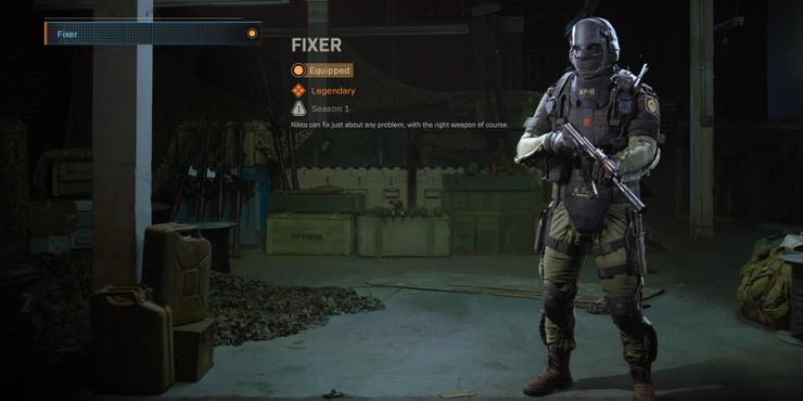 Nikto Operator Warzone