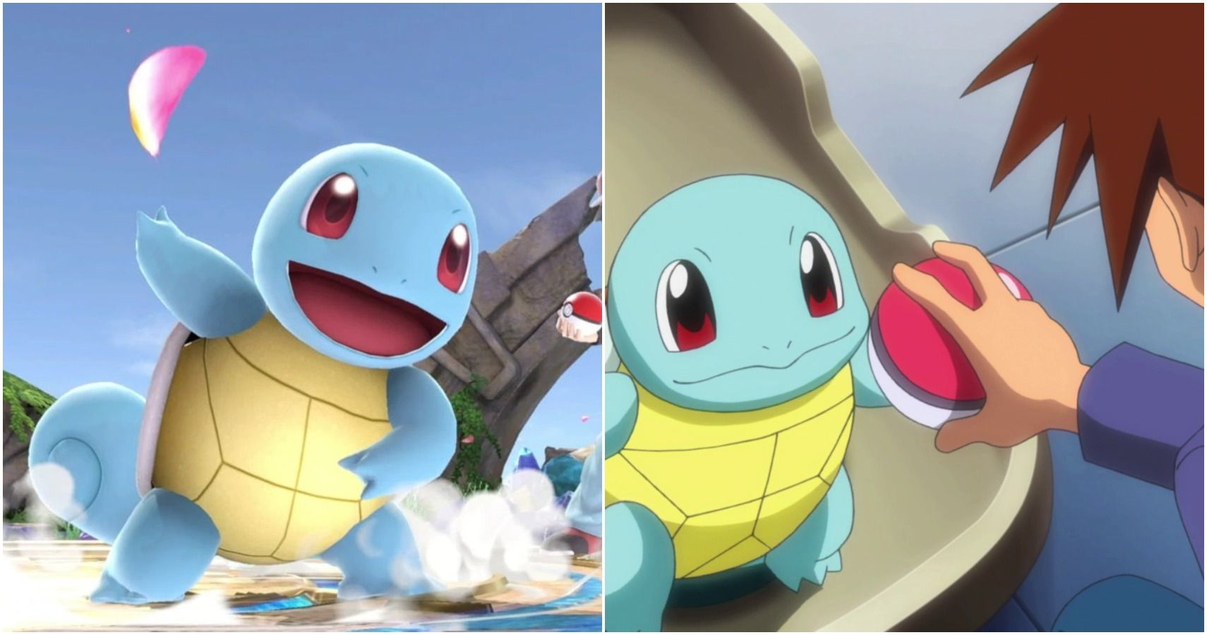 squirtle Charmander or