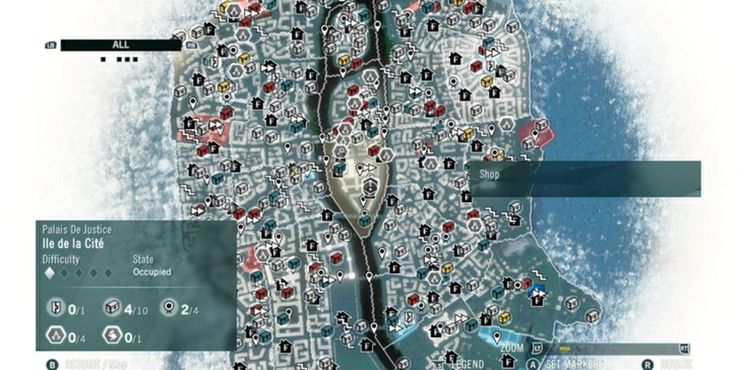 Assassin S Creed Every Game Ranked According To The Better Map