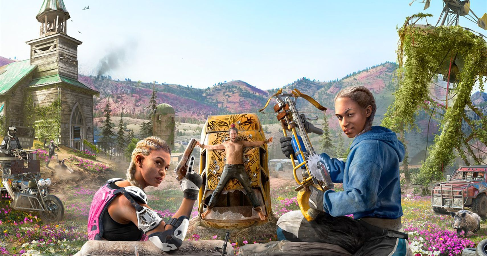 Far Cry New Dawn The 10 Strongest Weapons Thegamer