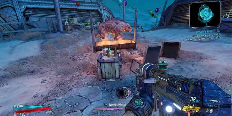 Borderlands 3 A Complete Guide To The Life Of The Party Quest There'll be plenty of skags in the area of each flower. guide to the life of the party quest