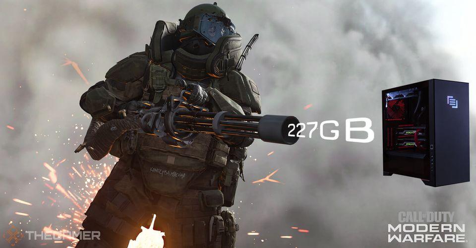 Call of Duty Modern Warfare - 227GB in PC